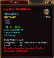 Curate's Plate Barbute