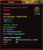 Stormbringer's Cap of the Citadel
