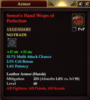 Sensei's Hand Wraps of Perfection