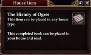 The History of Ogres (House Item)
