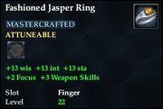 Fashioned Jasper Ring