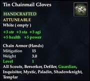 Tin Chainmail Gloves