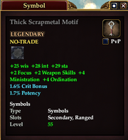 Thick Scrapmetal Motif