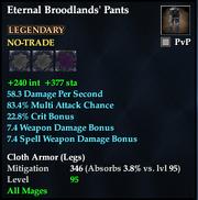 Eternal Broodlands' Pants