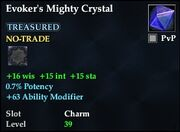 Evoker's Mighty Crystal