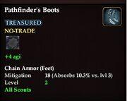 Pathfinder's Boots