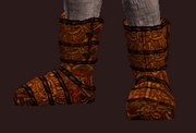 Rake's Chain Shoes (Equipped)
