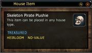 Skeleton Pirate Plushie