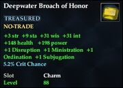 Deepwater Broach of Honor