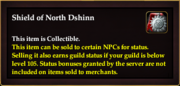 Shield of North Dshinn