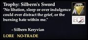 Silbern's Sword