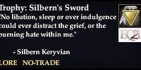 Trophy: Silbern's Sword