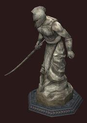 Statue-of-heroric-blade
