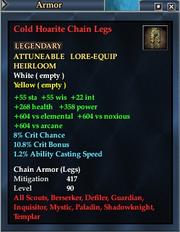 Cold Hoarite Chain Legs