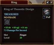 Ring of Theoretic Design