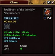Spellbook of the Worldly Necromancer
