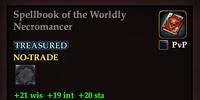 Spellbook of the Worldly Necromancer