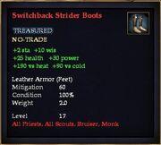 Switchback Strider Boots