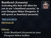 Boarfiend (Assassin)
