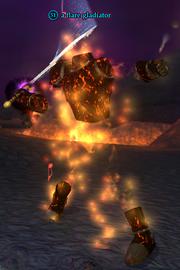 A flare gladiator
