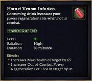 Hornet Venom Infusion