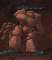 An Infernal Rock Heap