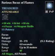 Furious Focus of Flames