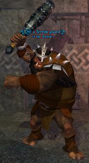 A Terrok guard