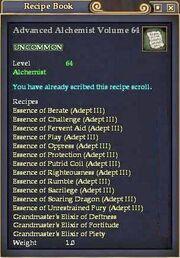 Advanced Alchemist Volume 64