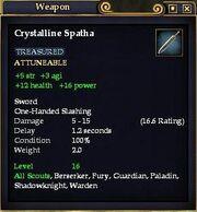 Crystalline Spatha