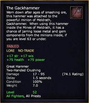 The Gackhammer