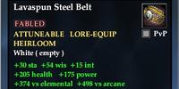 Lavaspun Steel Belt