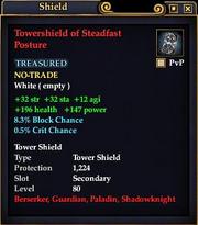 Towershield of Steadfast Posture