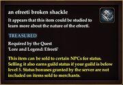 An efreeti broken shackle