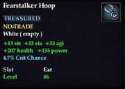 Fearstalker Hoop
