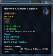 Frostwind Champion's Slippers