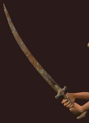 Iron Tulwar (Equipped)