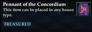 Pennant of the Concordium