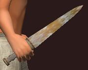 Iron Dirk (Equipped)