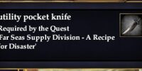 Utility pocket knife