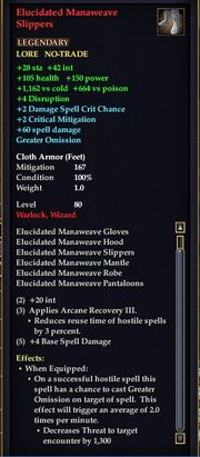 Elucidated Manaweave Slippers