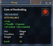 Gem of Foreboding