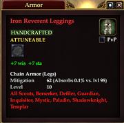 Iron Reverent Leggings