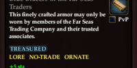 Blue Bracers of the Far Seas Traders