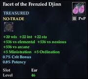 Facet of the Frenzied Djinn