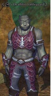 Deathfist battleguard