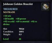 Jaldaran Golden Bracelet