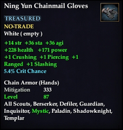 Ning Yun Chainmail Gloves