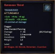 Ravenous Thirst
