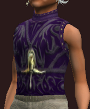 Indigo Vest of the Far Seas Traders (Equipped)